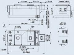 Модуль тиристорный MT3-650-16-A2