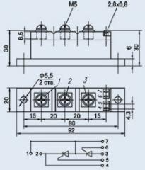 Модули тиристорные