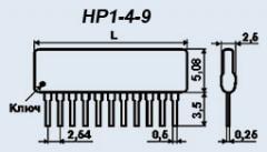 Набор резисторов НР1-4-9 0.125 Вт 4.7 К 5%