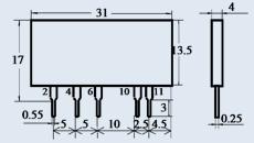 Оптоэлектронное реле К293КП11БП