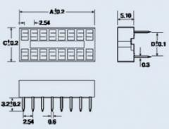 Panel dla DIP chip-14S