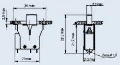 Переключатель движковый ПДМ1-1М
