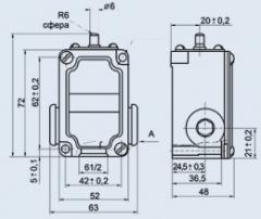 Переключатель концевой ВПК-2110Б У2