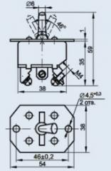 Переключатель нажимной 2ПН-20