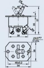Переключатель нажимной 2ПНП-47