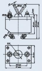 Переключатель трехполюсный 3В-20