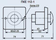 Пост управления кнопочный ПКЕ-112-1У3