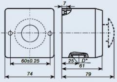 Пост управления кнопочный ПКЕ-222-1У2