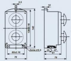 Пост управления кнопочный ПКЕ-222-2У3