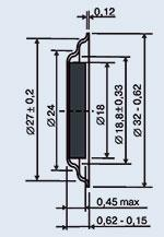 Pyezokeramichesky radiator of ZP-6