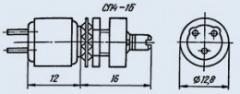 Resistor variable SP4-1B 0.5 10K