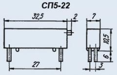 Резистор переменный СП5-22 1 1К