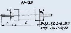 Resistor constant C2-33H 0.125 1.5K