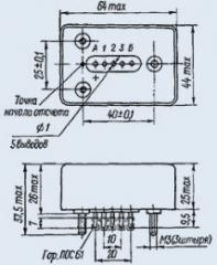 Реле времени РВЭ-1 РС4.544.000-05