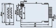 Реле электромагнитные средней мощности
