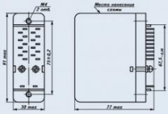 Реле промежуточное РП-20М-215 110В 50Гц 4-2-0