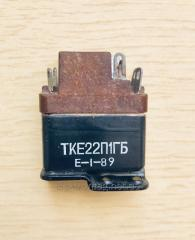 The relay electromagnetic TKE22P1GB