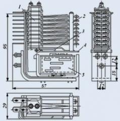Реле электромагнитное слаботочное МКУ-48С РА4.509.449
