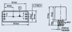 Реле электромагнитное слаботочное РГК-13