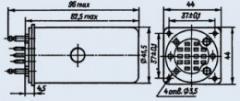 Реле  РПС-7 РС4.521.351