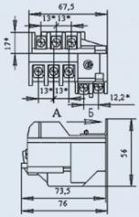 Реле электротепловое РТТ-111 0,32А