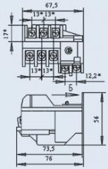 Реле электротепловое РТТ-111 0,5А
