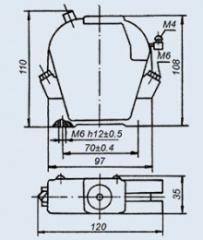 Реле электротепловое ТРТ-113-К 3.5А