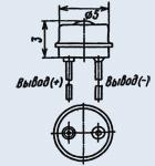 Светоизлучающий диод 3Л102Б