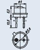 Светоизлучающий диод 3Л341А