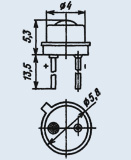 Светоизлучающий диод 3Л341Г