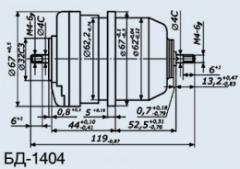 Сельсин-датчик БД-1404 кл.2