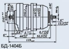 Сельсин-датчик БД-1404Б кл.1