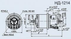 Selsyn sensor ND-1214 kl.1