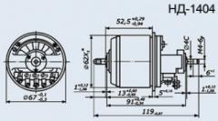 Selsyn sensor ND-1404 kl.1
