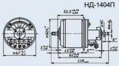 Selsyn sensor ND-1404P kl.1
