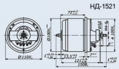 Selsyn sensor ND-1521 kl.1