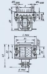 Соединитель комбинированный РГ3КП-3Г2Т-В