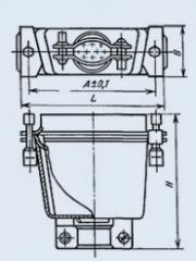 Соединитель комбинированный РП15-10ШВ222КВ