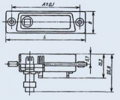 Соединитель комбинированный РП15-15ШВВ