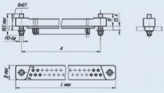 Соединитель низкочастотный прямоугольный ГРПМ1-31ГО2-В