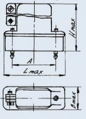 Соединитель низкочастотный прямоугольный РП10-42