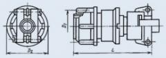 Соединитель низкочастотный цилиндрический 2РМ14КПН4Г1А1