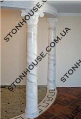 Колонны из натурального камня Классика