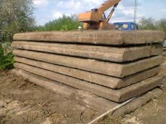 Плиты дорожные бетонные 1,25*3м;1.6*3м- 200 штук в