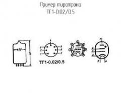 TG1-0.02/0.5 thyratrons