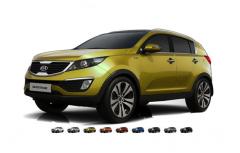 Автомобиль Kia New Sportage