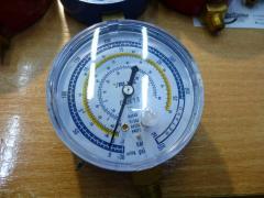 Manometer. VALUE EBL of low pressure. Blue. R