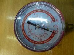 Manometer. VALUE AH of high pressure. Red. R 410.
