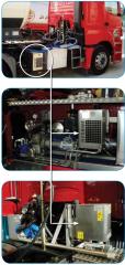 Гидравлическая система с масляным радиатором
