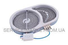 Конфорка для стеклокерам. поверхности Whirlpool 1000/1800W , артикул 6930
